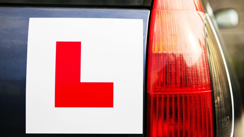 learner driver fails