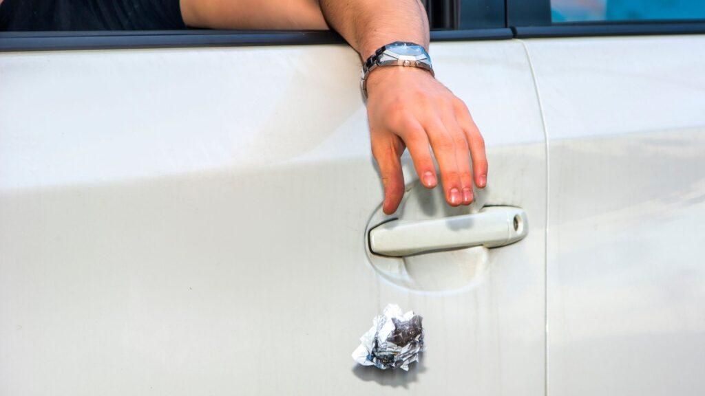 Car Littering