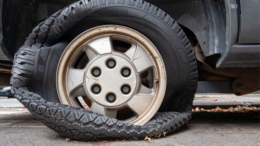 Tyre Blowout