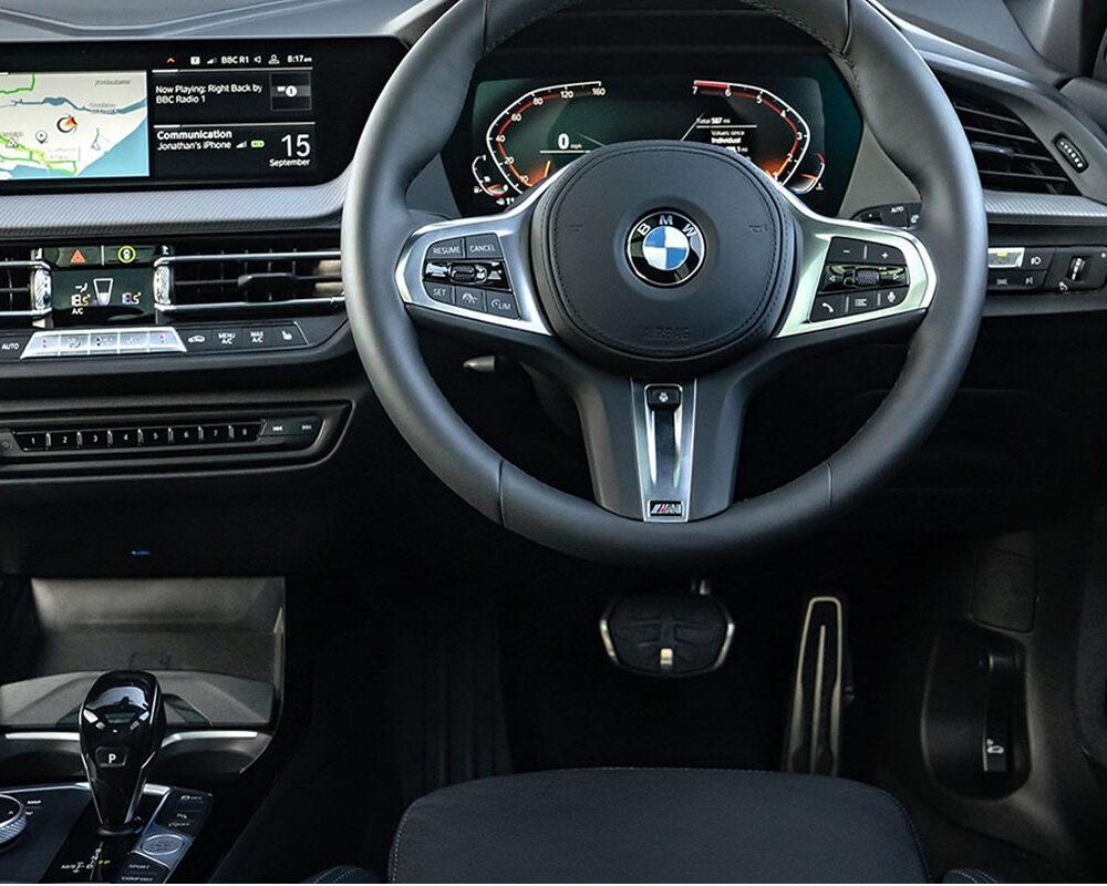 BMW 1 Series Interior Dashboard and Steering Wheel
