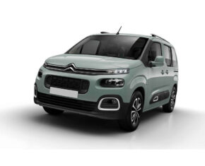 Citroen Berlingo front and side view