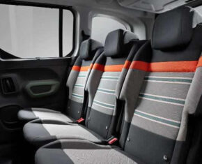 Citroen Berlingo Interior - Rear Seats