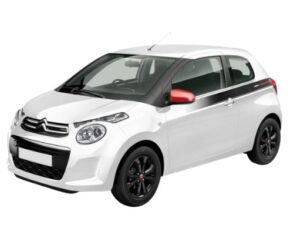 Citroen C1 Front and Side View