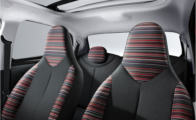 Citroen C1 Interior Seats