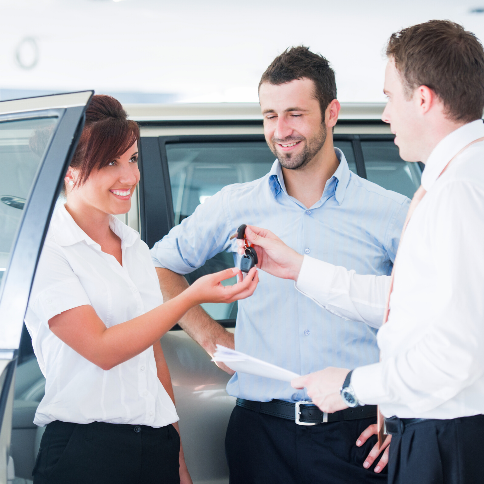 Couple - Joint Application for Car Leasing