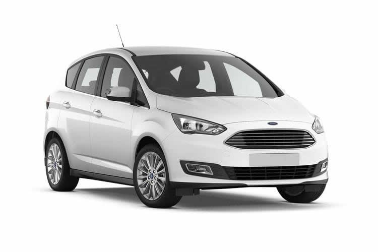 White Ford C Max
