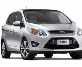 Silver Ford C Max