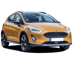 Ford Fiesta Orange