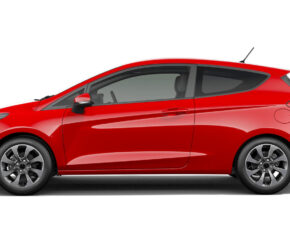 Ford Fiesta Red - Side