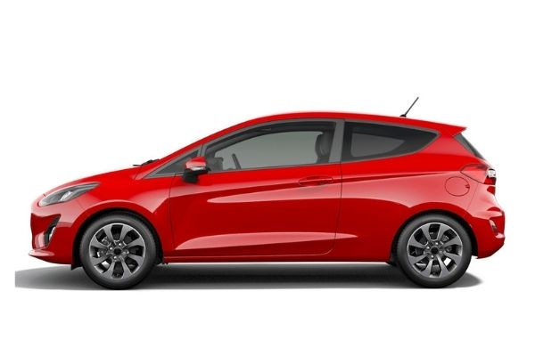 Ford Fiesta Side View #2