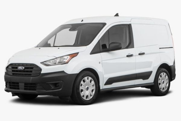 Ford Transit Van Side View