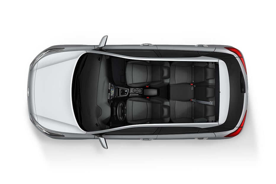 Hyundai i20 Interior From Above