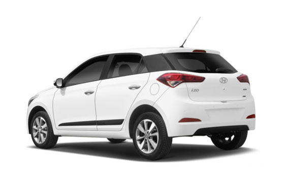 Hyundai i20 White
