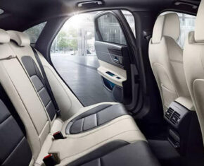 Jaguar XF Interior - rear