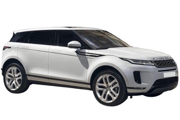Land Rover Range Rover Evoque White - Front and Side View #2