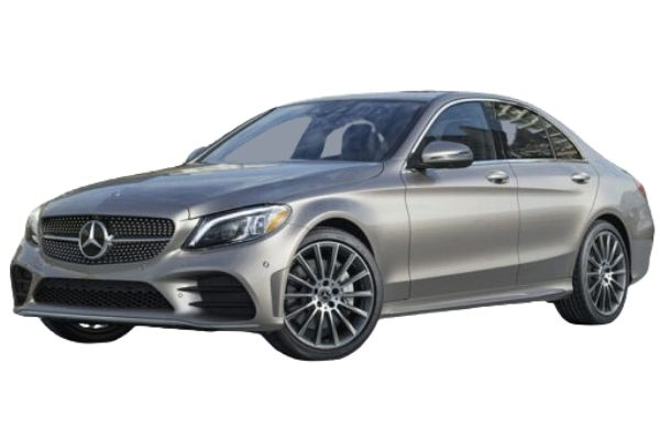 Mercedes Benz C Class Front and Side View