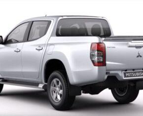 Mitsubishi L200 - 2019 - Rear View - Silver