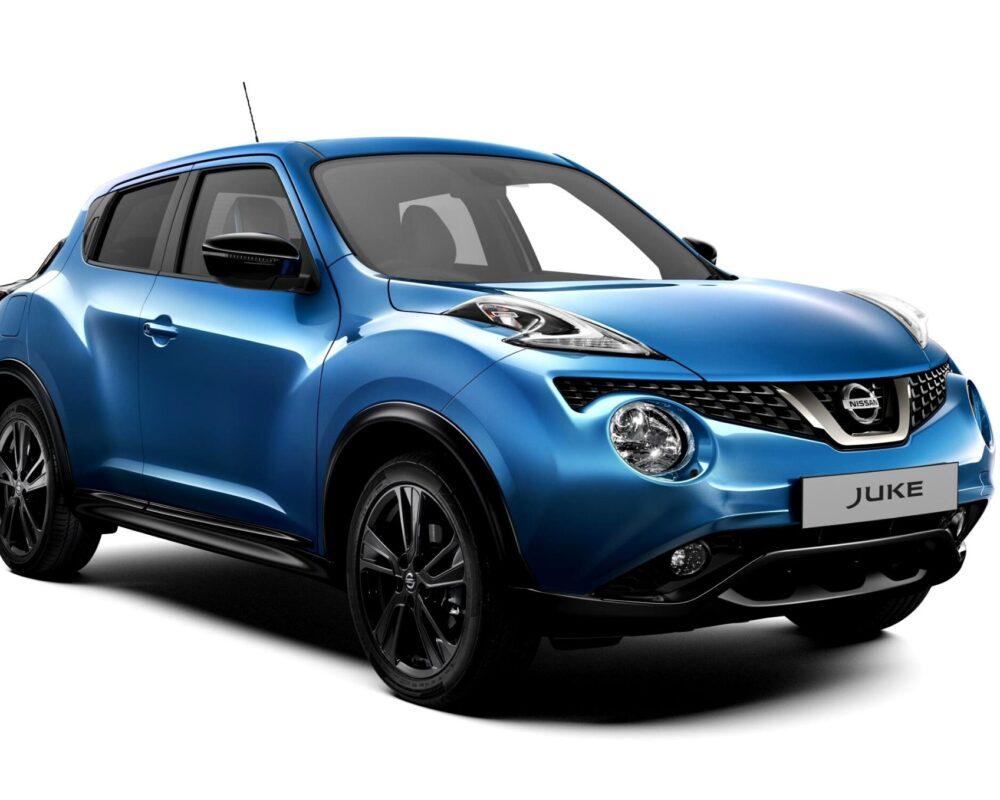 Nissan Juke 2018 Front - blue