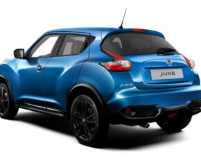 Nissan Juke 2018 - Rear View - Blue