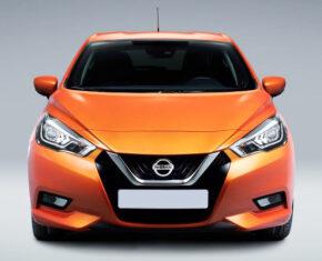Nissan Micra Orange - Front