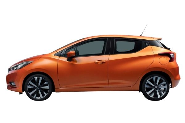 Nissan Micra Side View
