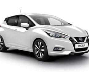 Nissan Micra White