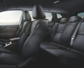Nissan Qashqai Interior seats