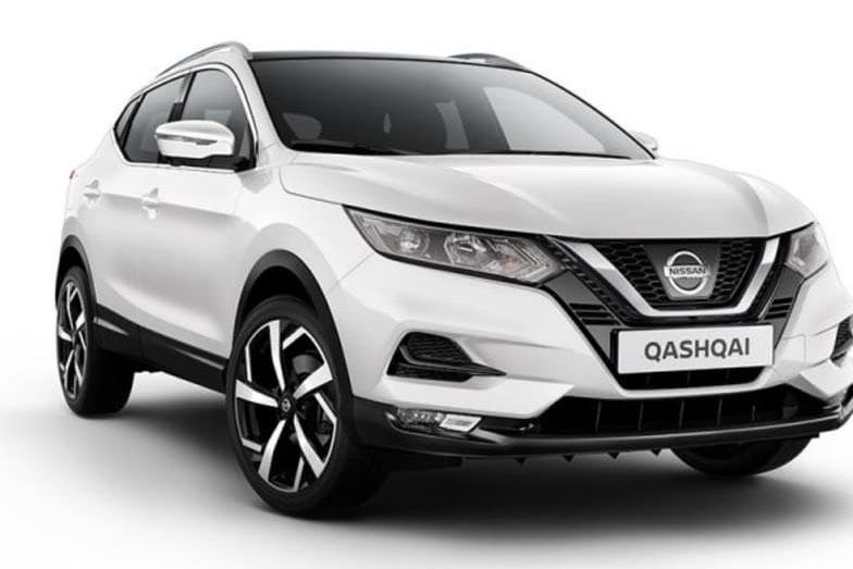 Nissan Qashqai White