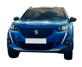 Peugeot 2008 Front view