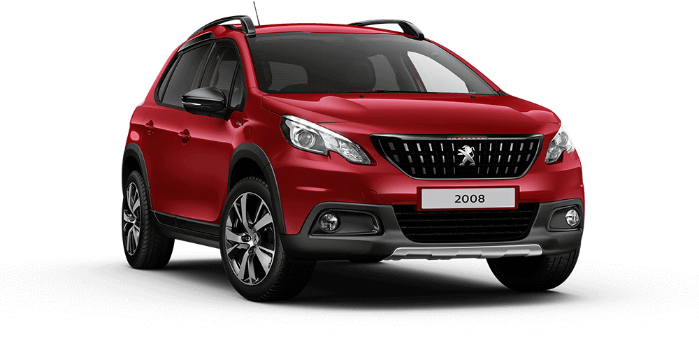 Peugeot 2008 Red Front View