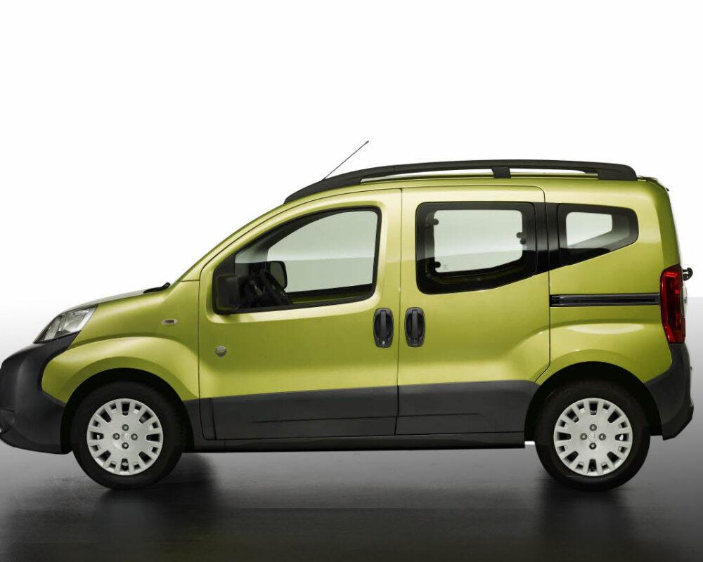 Peugeot Bipper Green Side