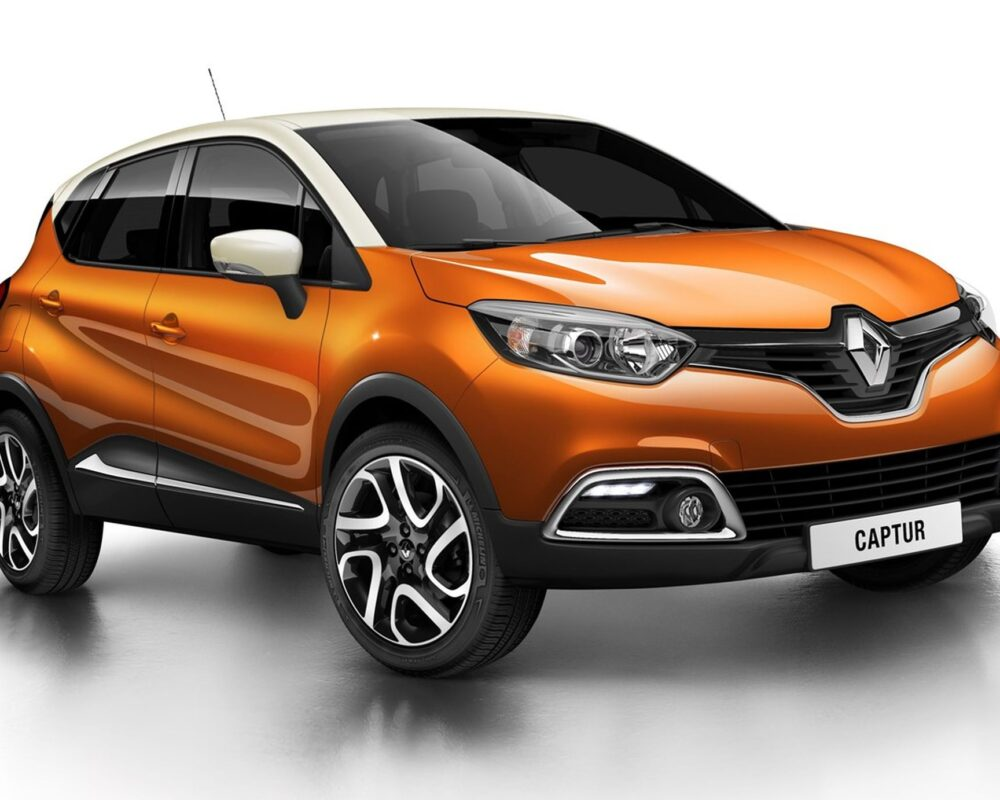 Renault Captur 2018 - Orange - Front View
