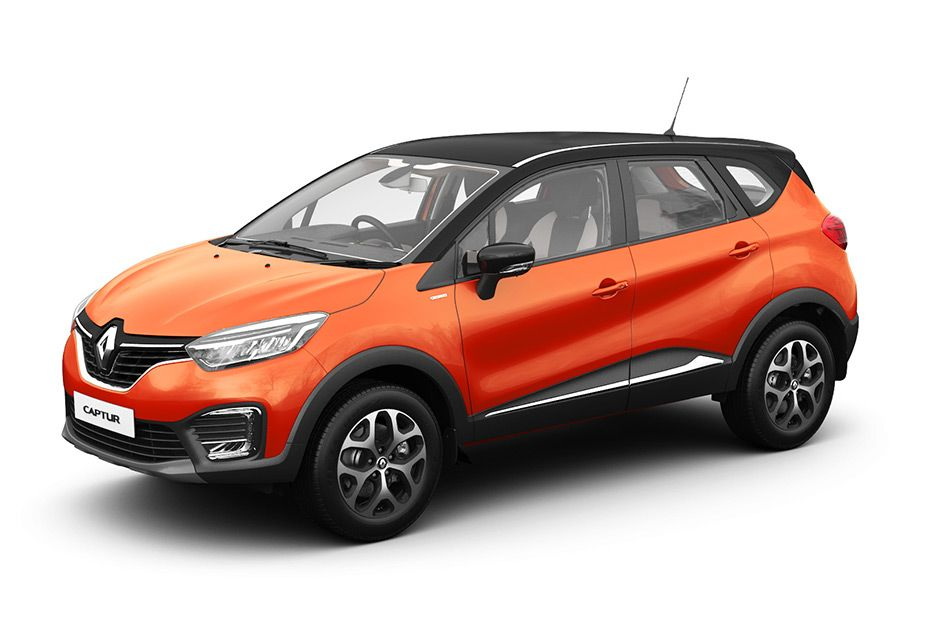 Renault Captur 2018 - Orange - Side View