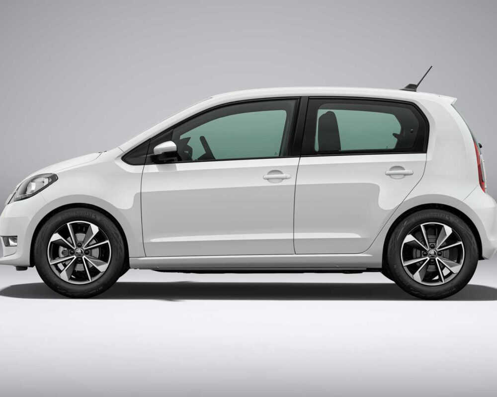 Skoda Citigo White Side