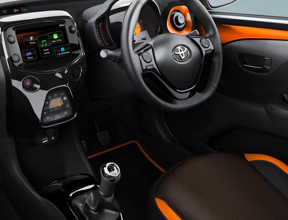 Toyota Aygo Interior Front