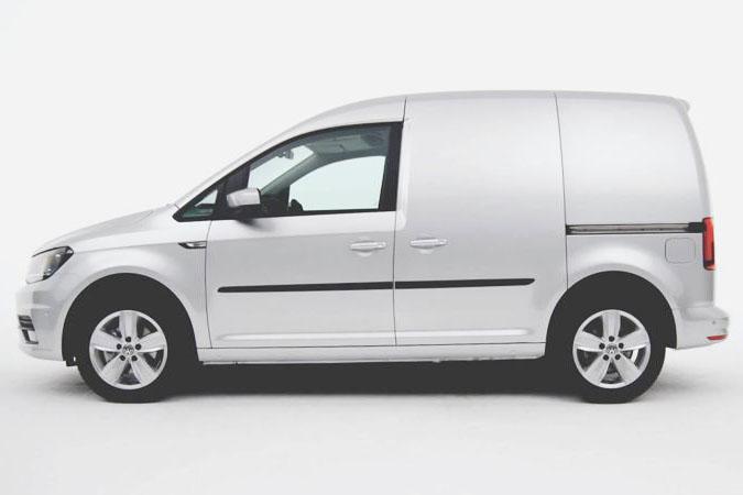 VW Caddy Van Silver