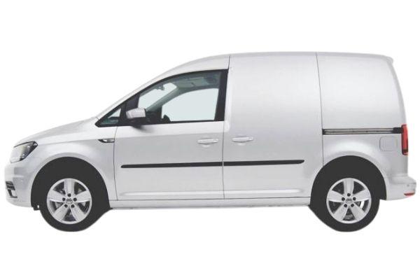 VW Caddy Van side view