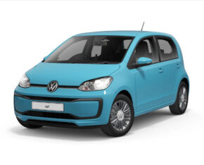 VW Up Blue Front