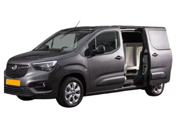 Vauxhall Combo Van - Doors Open (1)