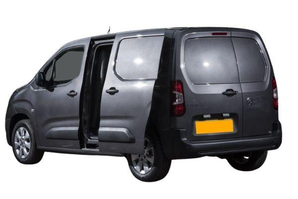 Vauxhall Combo Van - Rear View