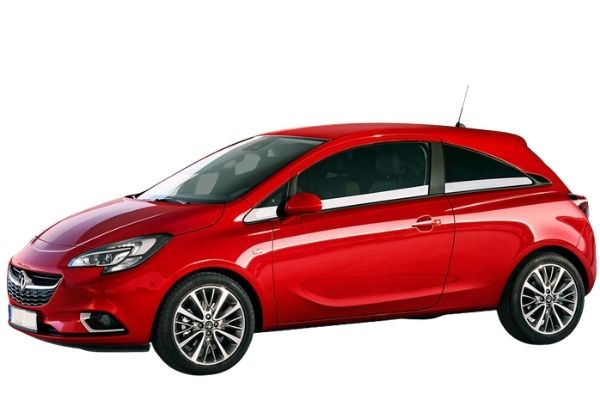 Vauxhall Corsa Design 1.4 side view