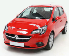 Vauxhall Corsa Design Red - Front View