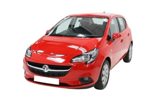 Vauxhall Corsa Red Front View