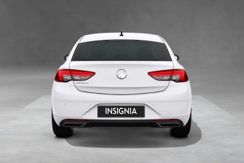 Vauxhall Insignia White Rear