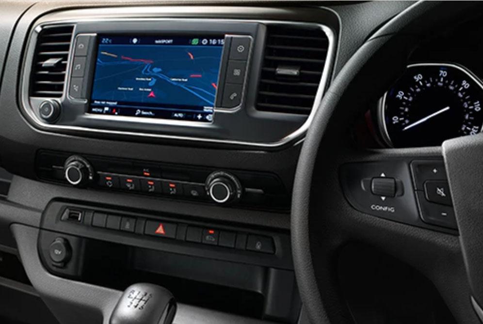Vauxhall Vivaro Dashboard