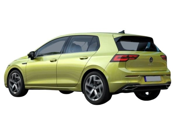 Volkswagen Golf Side and Rear View (1)