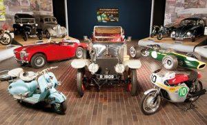 Beaulieu National Motor Museum - cars and bikes