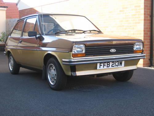 1981 Ford Fiesta Ghia metallic brown/silver