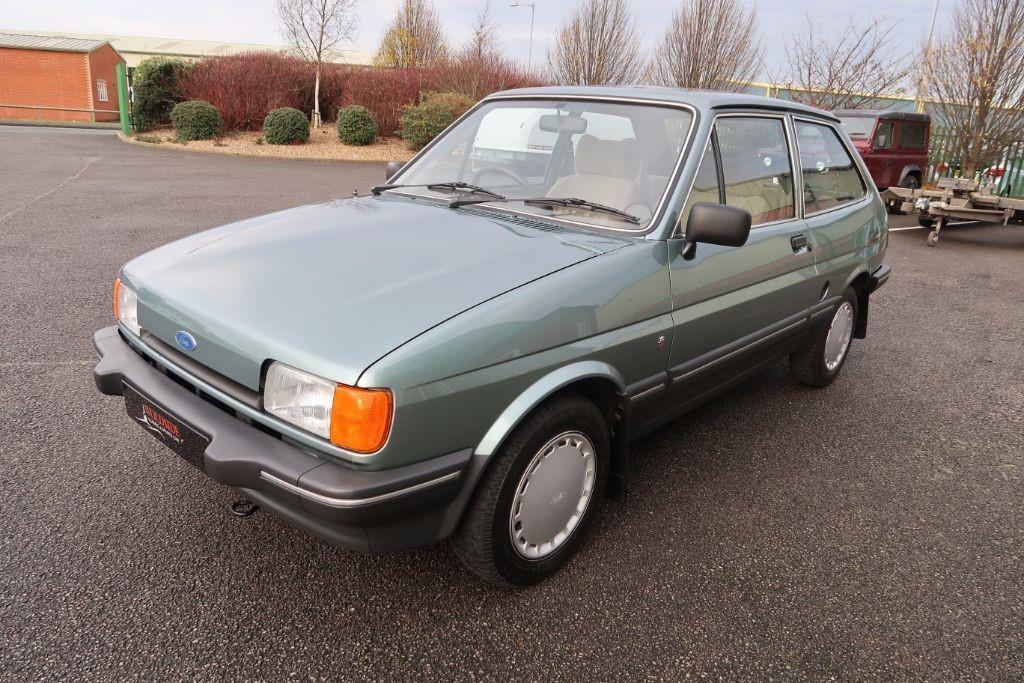 1984 Ford Fiesta new generation