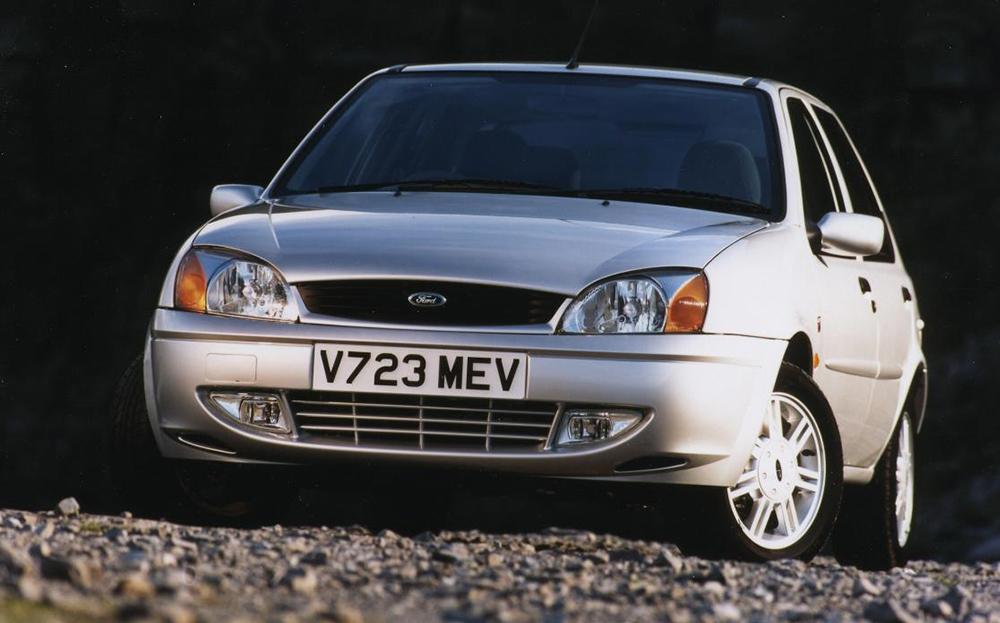 metallic silver ford fiesta 5 door new car image